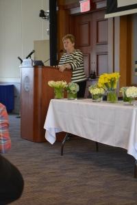 Helen Drinan speaks