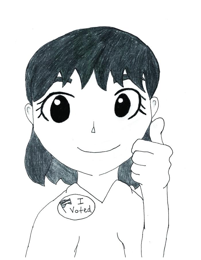Fernanda Tapia's cartoon