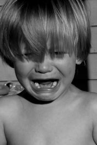child crying photo