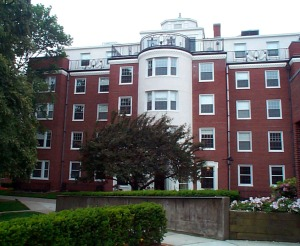 pic of evans hall