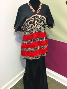 pic of a dress from myanmar