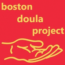 Logo of the Boston Doula Project