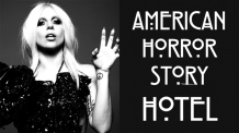 American Horror Story: Hotel promotional (with Lady Gaga)