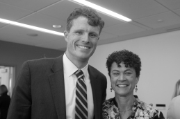 Photo of Katie Conboy and Congressman Kennedy