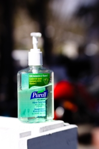 Your new best friend: Purell
