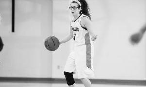 #3 on the Simmons basketball team