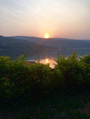 Sunset in Rwanda