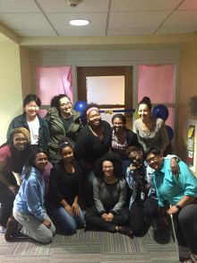 Students celebrate the new Multicultural Student Office