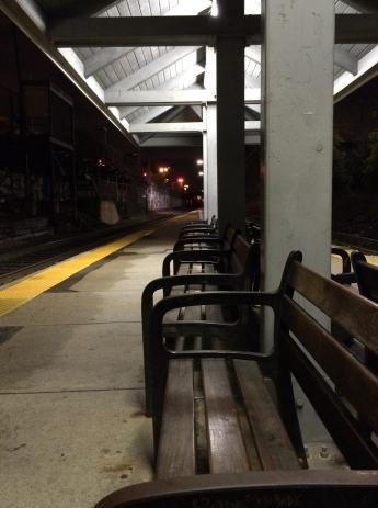 """Station at Midnight,"" by Elaine Alibrandi. Source: Trustman Art Gallery"