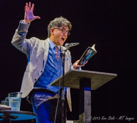 Sherman Alexie at the Wilma