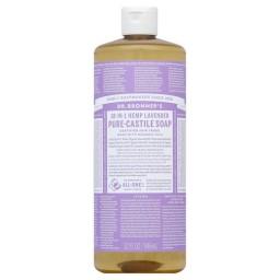 Dr. Bronner's Lavender Castile Soap, $10.99 for 16 oz. Source: Dr. Bronner's